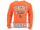 Cincinnati Bengals 5th & Ocean NFL Youth Raglan Hoodie Hoodies