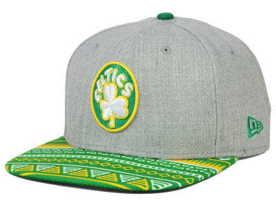 Boston Celtics NBA HWC Neon Mashup 9FIFTY Snapback Cap Hats