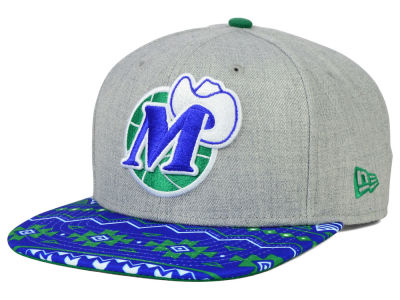 Dallas Mavericks NBA HWC Neon Mashup 9FIFTY Snapback Cap Hats