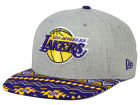 Los Angeles Lakers New Era NBA HWC Neon Mashup 9FIFTY Snapback Cap Adjustable Hats