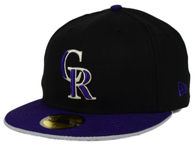Colorado Rockies MLB Under Fitter 59FIFTY Cap Hats