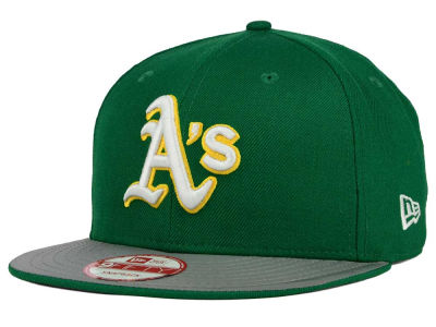 Oakland Athletics MLB Team Reflect 9FIFTY Snapback Cap Hats