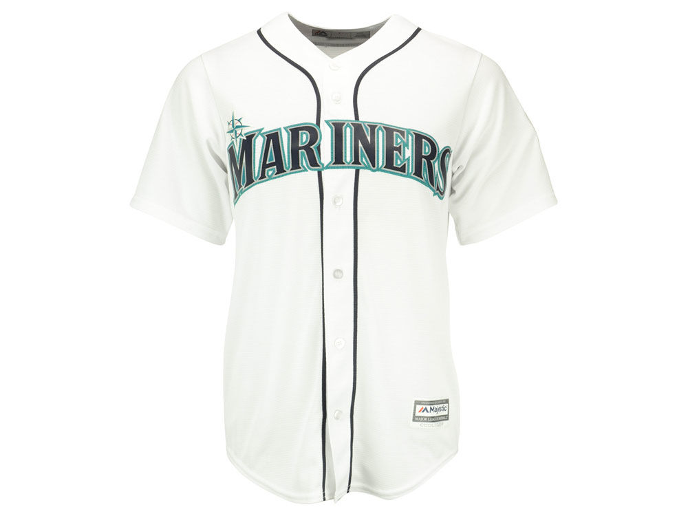 85a618b96d Seattle Mariners Ken Griffey Jr. Majestic MLB Men's Cooperstown Player  Replica CB Jersey delicate ·