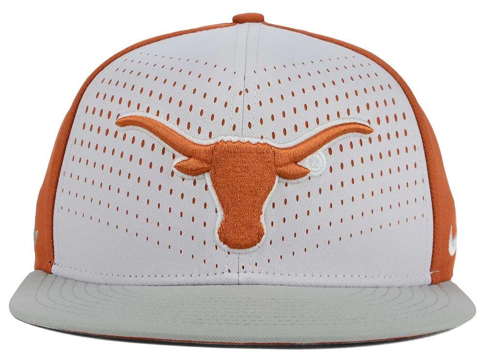 b9fb95002e2 80%OFF Texas Longhorns Nike NCAA True Seasonal Snapback Cap - funani ...