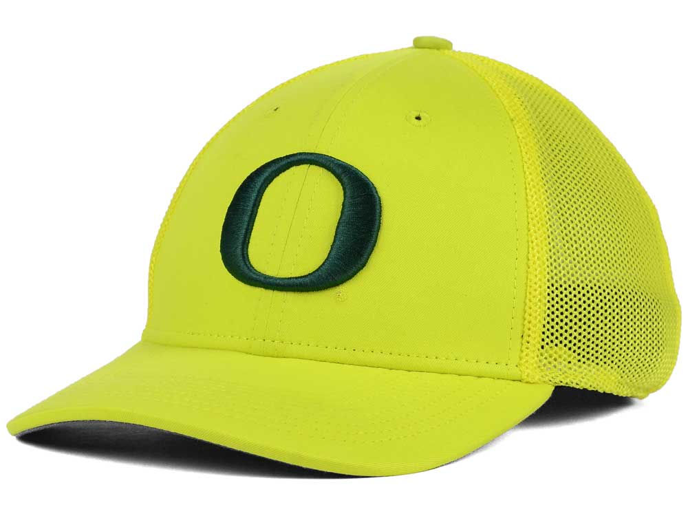 100% authentic 1b13e bd3e9 60%OFF Oregon Ducks Nike NCAA L91 Mesh Swoosh Flex Cap