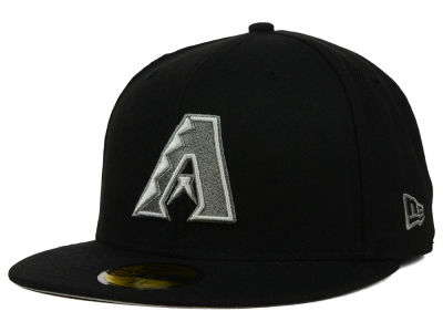 Arizona Diamondbacks MLB Black Graphite 59FIFTY Cap Hats