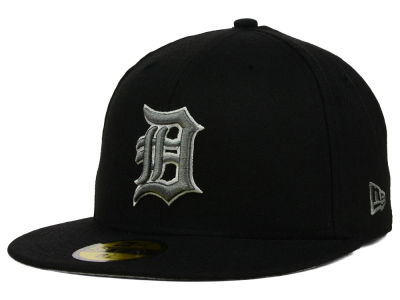 Detroit Tigers MLB Black Graphite 59FIFTY Cap Hats