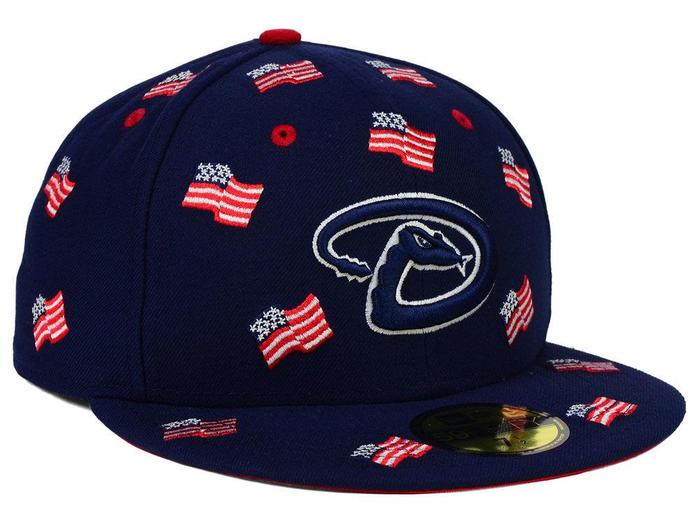 a1a9bc64552 Arizona Diamondbacks New Era MLB All Flags 59FIFTY Cap 30%OFF ...