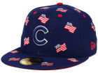 Chicago Cubs New Era MLB All Flags 59FIFTY Cap Fitted Hats