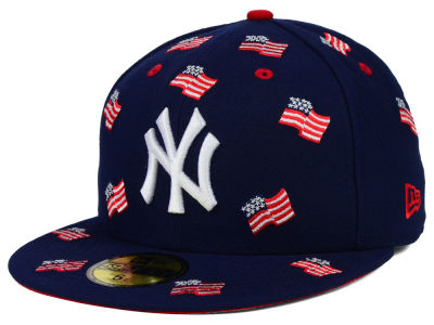 New York Yankees MLB All Flags 59FIFTY Cap Hats