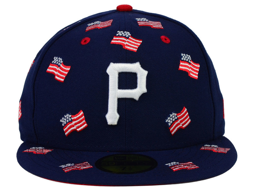 new concept f027f 2e921 Pittsburgh Pirates New Era MLB All Flags 59FIFTY Cap delicate