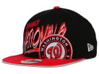 Washington Nationals New Era MLB Neon Word Scribbs 9FIFTY Snapback Cap Adjustable Hats