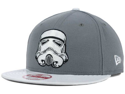 Star Wars Stormtrooper SW Leather Vis 9FIFTY Snapback Cap Hats