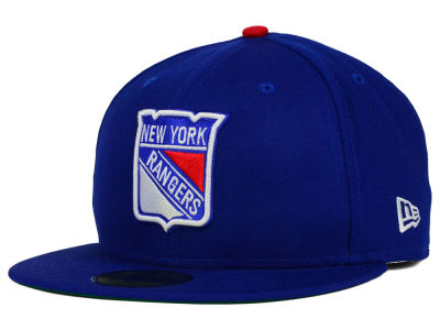 New York Rangers NHL Vintage Solid 59FIFTY Cap Hats