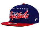 Washington Capitals New Era NHL Vintage Liner 9FIFTY Snapback Cap Adjustable Hats