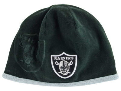 Oakland Raiders NFL 2015 Tech Knit Hats