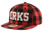 Crooks & Castles Flannel 9FIFTY Strapback Cap Adjustable Hats