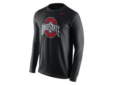 Nike NCAA Men's Cotton Logo Long Sleeve T-Shirt