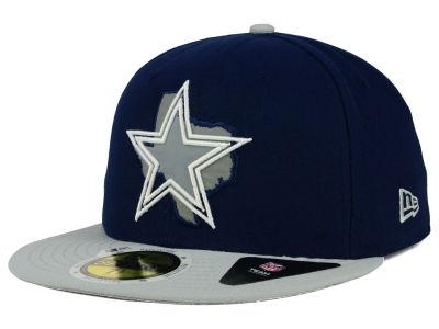 Dallas Cowboys NFL State Flective Redux 59FIFTY Cap Hats