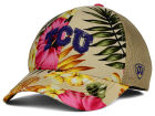 Texas Christian Horned Frogs Top of the World NCAA Shore Stretch Cap Stretch Fitted Hats