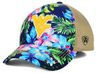 West Virginia Mountaineers Top of the World NCAA Shore Stretch Cap Stretch Fitted Hats