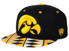 Iowa Hawkeyes Top of the World NCAA Tribe Snapback Cap Adjustable Hats