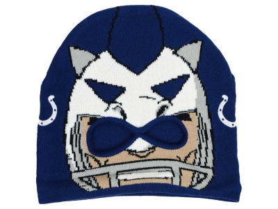 Outerstuff NFL Youth Rush Zone Mascot Knit Hats