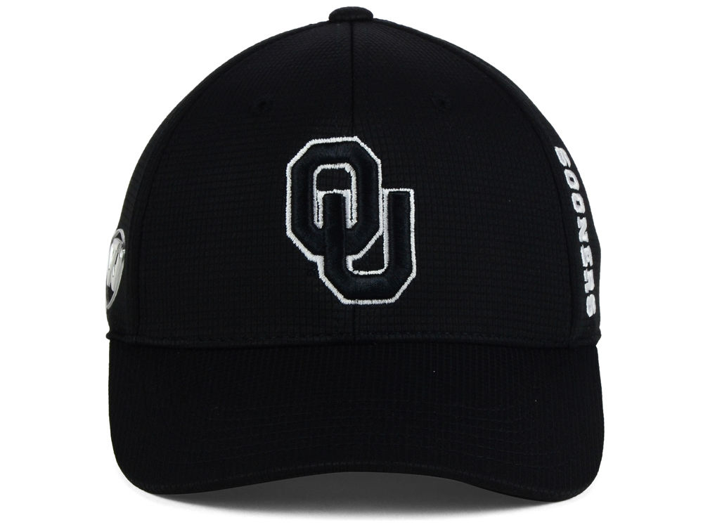 info for 5ef11 41295 Oklahoma Sooners Top of the World NCAA Black White Booster Cap lovely