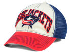 Columbus Blue Jackets Reebok NHL 2015 Felt Mesh Slouch Cap Stretch Fitted Hats