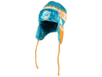 Miami Dolphins NFL Moose Trapper Knit Hats