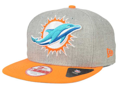 Miami Dolphins NFL Logo Grand 9FIFTY Snapback Cap Hats
