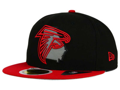 Atlanta Falcons NFL State Flective Redux 59FIFTY Cap Hats
