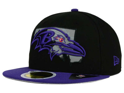 Baltimore Ravens NFL State Flective Redux 59FIFTY Cap Hats