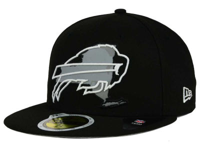 Buffalo Bills NFL State Flective Redux 59FIFTY Cap Hats