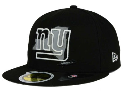New York Giants NFL State Flective Redux 59FIFTY Cap Hats