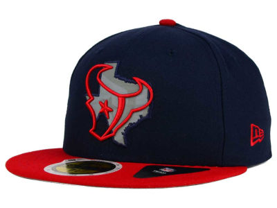 Houston Texans NFL State Flective Redux 59FIFTY Cap Hats