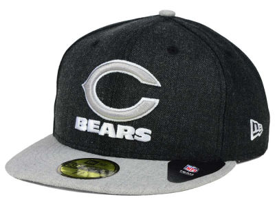 Chicago Bears NFL Heather Action 2 Tone 59FIFTY Cap Hats
