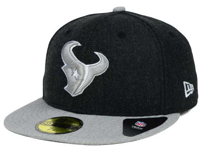 Houston Texans NFL Heather Action 2 Tone 59FIFTY Cap Hats