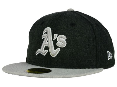 Oakland Athletics MLB Heather Action 59FIFTY Cap Hats