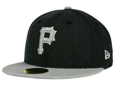 Pittsburgh Pirates MLB Heather Action 59FIFTY Cap Hats