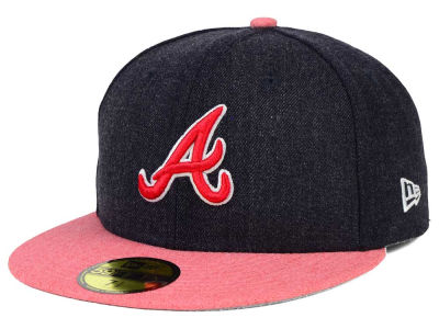 Atlanta Braves MLB Heather Action 59FIFTY Cap Hats