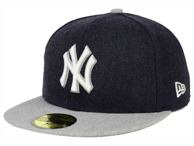 New York Yankees MLB Heather Action 59FIFTY Cap Hats