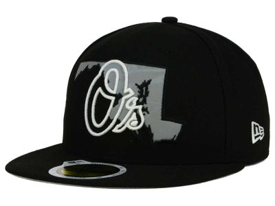 Baltimore Orioles MLB State Reflective Redux 59FIFTY Cap Hats