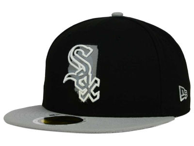 Chicago White Sox MLB State Reflective Redux 59FIFTY Cap Hats