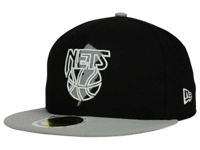 New Jersey Nets NBA HWC State Reflective Redux 59FIFTY Cap Hats