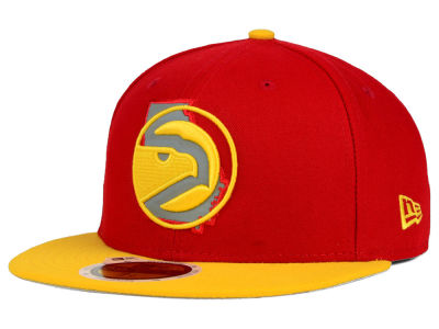 Atlanta Hawks NBA HWC State Reflective Redux 59FIFTY Cap Hats