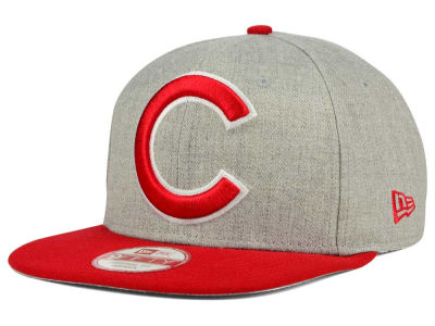 Chicago Cubs MLB Logo Grand 9FIFTY Snapback Cap Hats