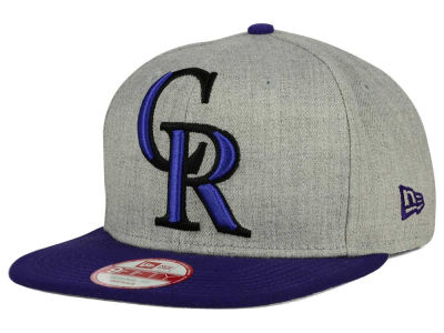 Colorado Rockies MLB Logo Grand 9FIFTY Snapback Cap Hats