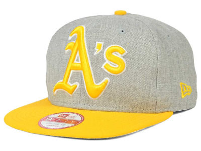 Oakland Athletics MLB Logo Grand 9FIFTY Snapback Cap Hats