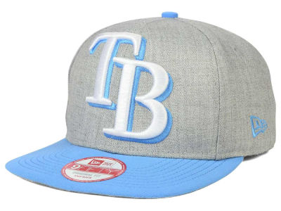 Tampa Bay Rays MLB Logo Grand 9FIFTY Snapback Cap Hats